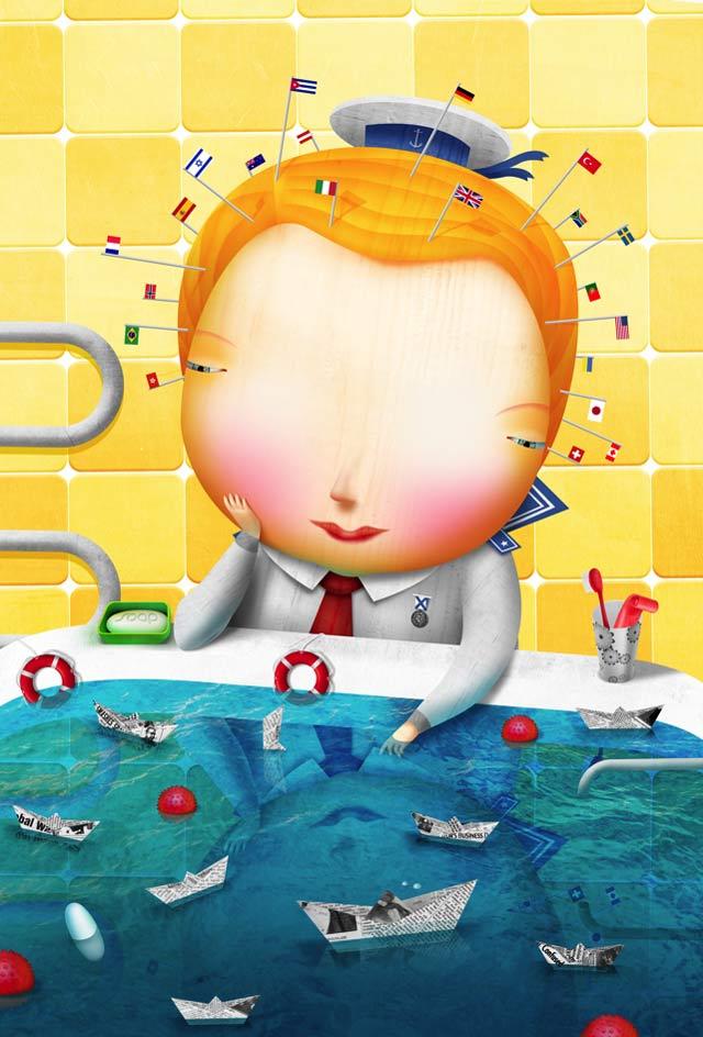 20 de ilustratii superbe: Vadim Gannenko - Poza 10