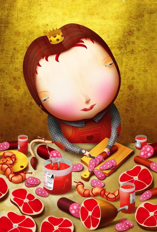 20 de ilustratii superbe: Vadim Gannenko - Poza 11
