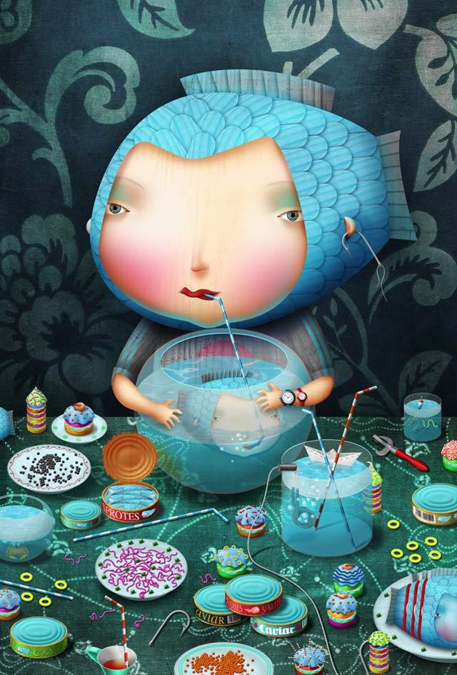 20 de ilustratii superbe: Vadim Gannenko - Poza 13