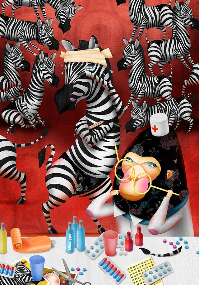 20 de ilustratii superbe: Vadim Gannenko - Poza 15