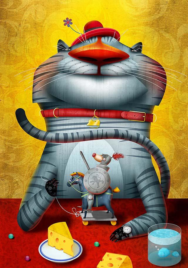 20 de ilustratii superbe: Vadim Gannenko - Poza 18