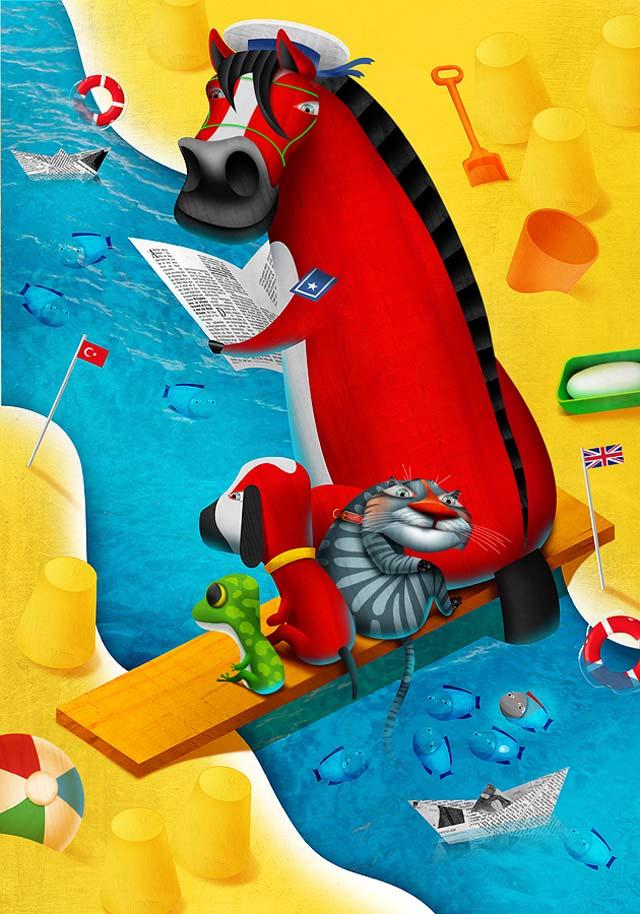 20 de ilustratii superbe: Vadim Gannenko - Poza 20