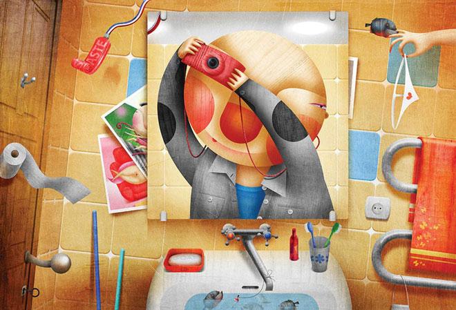 20 de ilustratii superbe: Vadim Gannenko - Poza 5