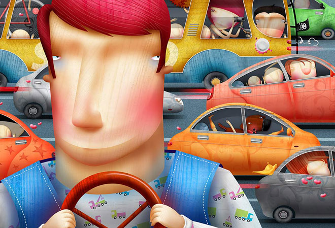 20 de ilustratii superbe: Vadim Gannenko - Poza 7