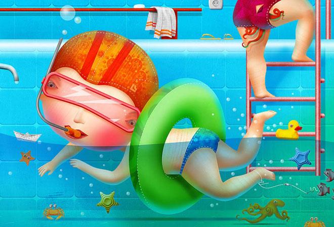 20 de ilustratii superbe: Vadim Gannenko - Poza 8