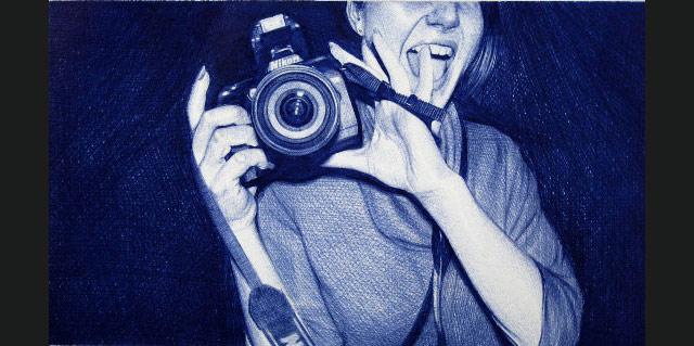 Fotografii realizate numai cu un pix!