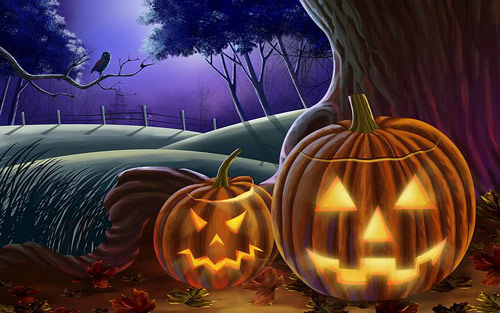Buhuhu: Wallpaper-e de Halloween - Poza 6