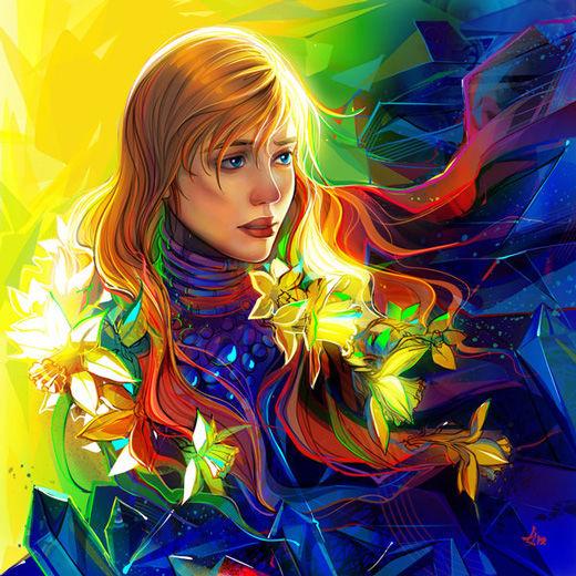 45 de exemple inspirationale de arta vectoriala - Poza 3