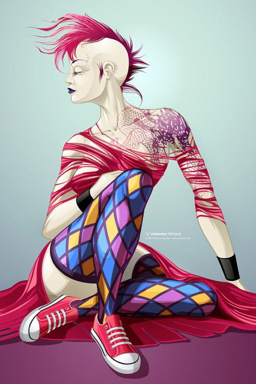 45 de exemple inspirationale de arta vectoriala - Poza 9