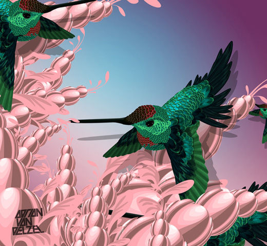 45 de exemple inspirationale de arta vectoriala - Poza 38