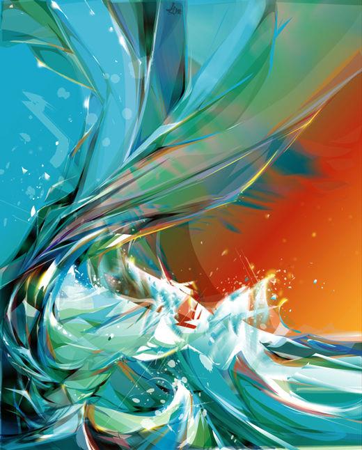 45 de exemple inspirationale de arta vectoriala - Poza 44