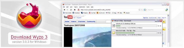 Wyzo The Media Browser - Poza 1