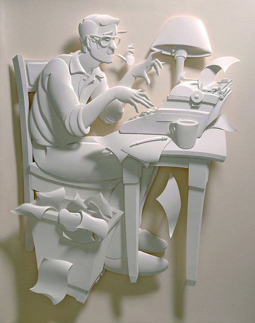 25 de sculpturi din hartie - Poza 25