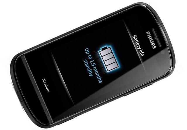 Philips Xenium X830 - Poza 2