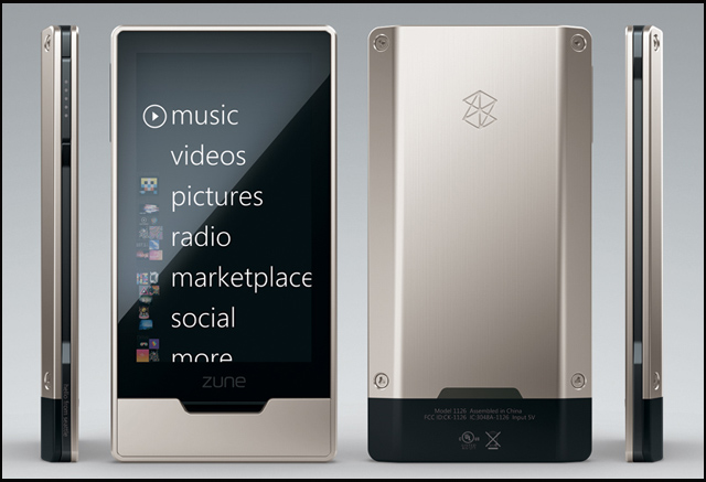 Multitouch: Zune HD - Poza 1