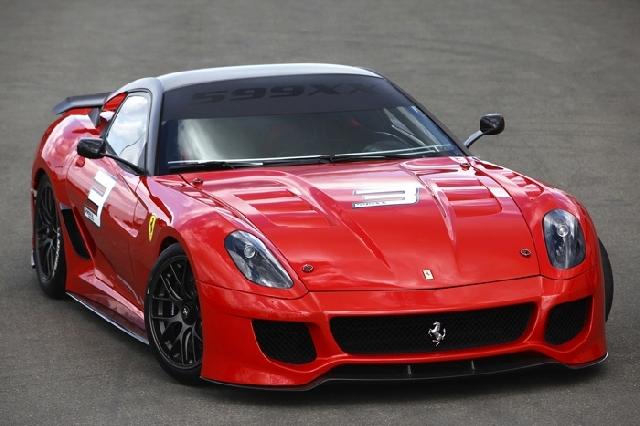 Poza 1: Experimentul Ferrari 599XX