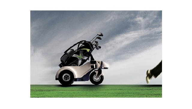 Foto 3: Shadow Caddy pentru golf