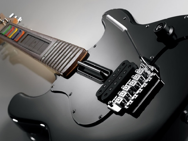 Foto 1: Logitech Wireless Guitar