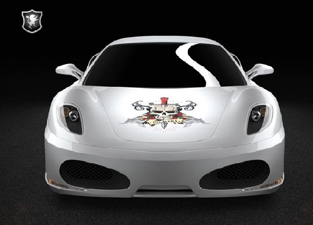 Poza 3: Ferrari F430 Calavera