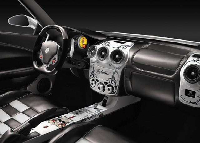 Poza 7: Ferrari F430 Calavera