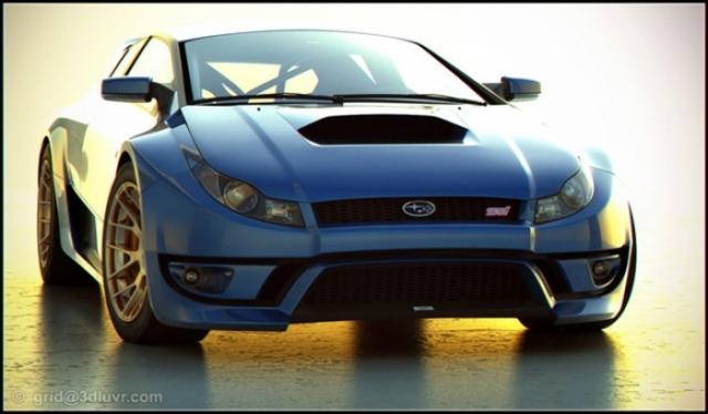 Poza 1: Viitorul Subaru WRX STI?
