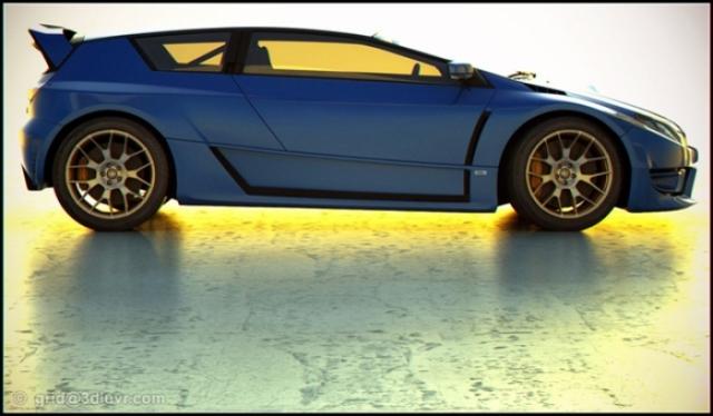 Poza 3: Viitorul Subaru WRX STI?