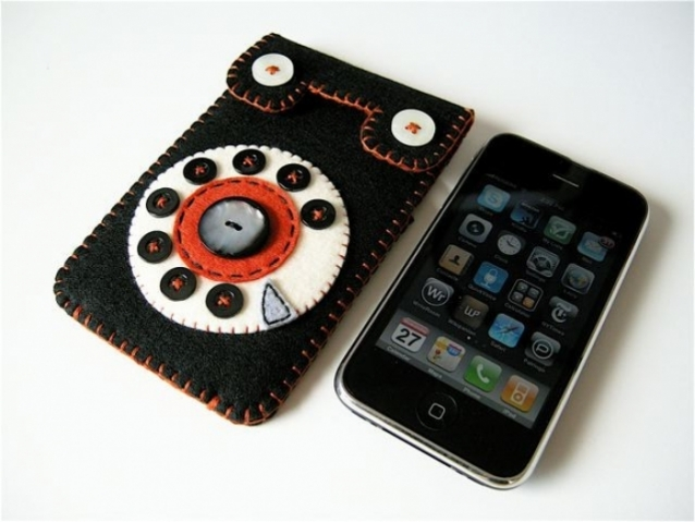 Poza 1: Handmade: Husa iPhone 3G