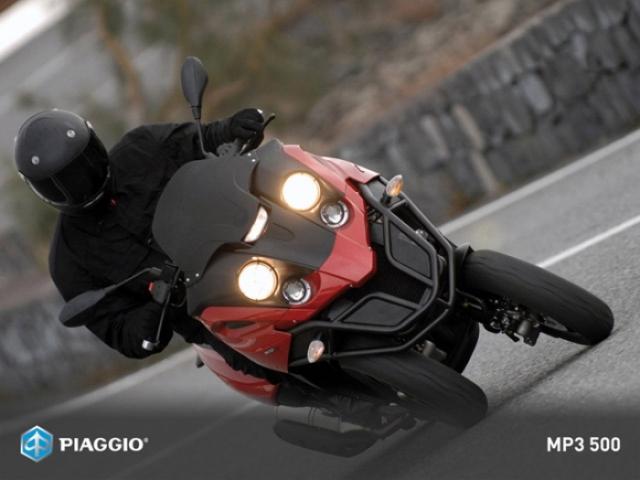 Poza 1: Piaggio MP3 500