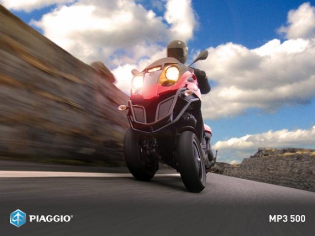 Poza 2: Piaggio MP3 500