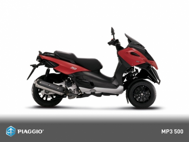 Poza 7: Piaggio MP3 500