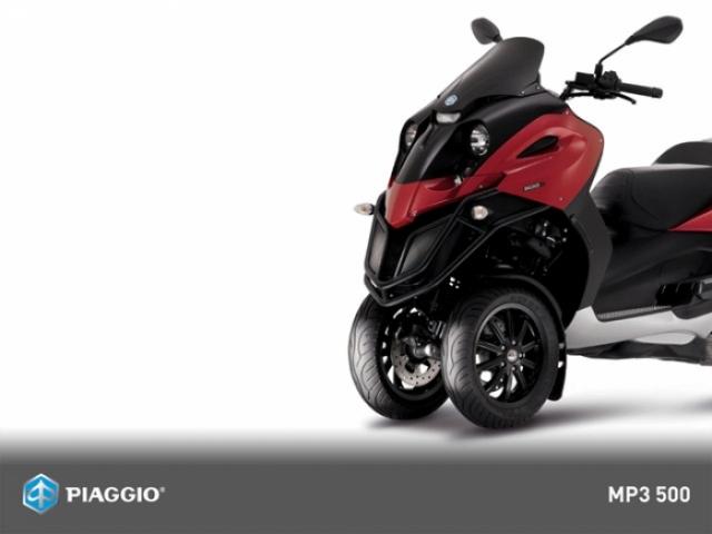 Poza 9: Piaggio MP3 500