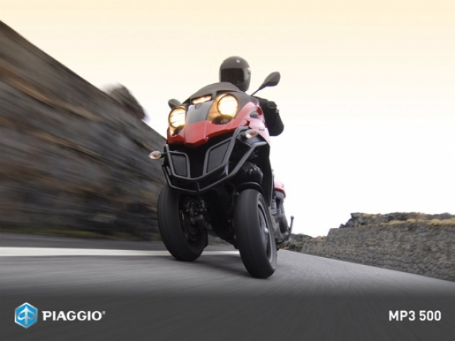 Poza 10: Piaggio MP3 500
