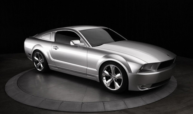Poza 1: Iacocca Silver Ford Mustang
