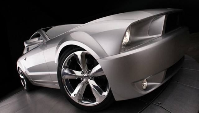 Poza 3: Iacocca Silver Ford Mustang