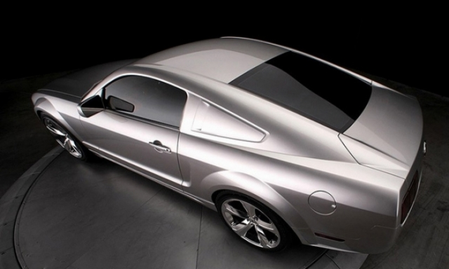 Poza 7: Iacocca Silver Ford Mustang