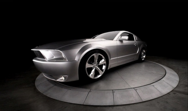 Poza 8: Iacocca Silver Ford Mustang