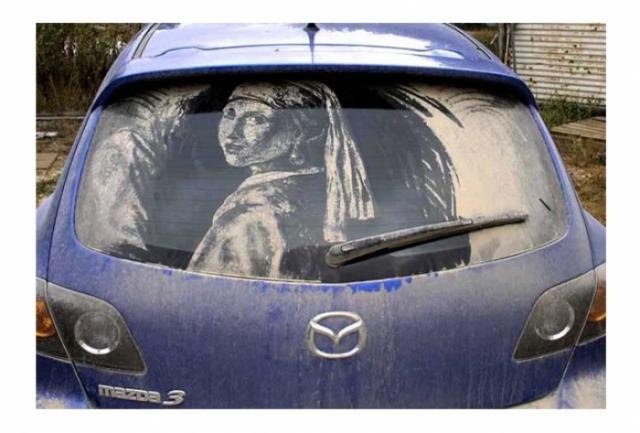 Foto 4: 20 de desene superbe pe masini murdare