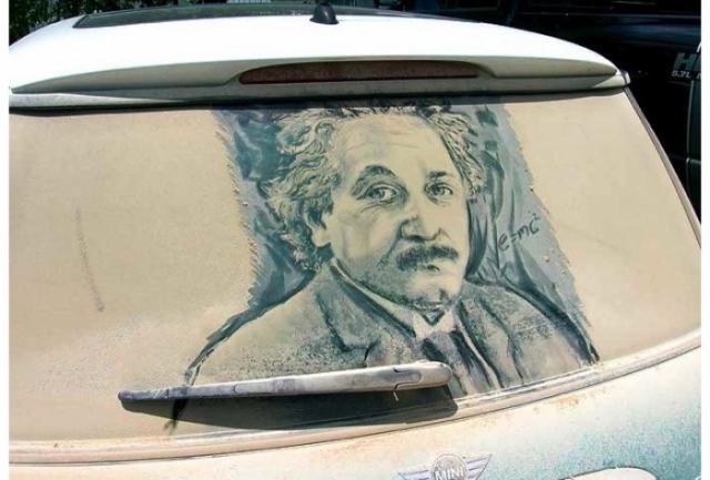 Foto 10: 20 de desene superbe pe masini murdare