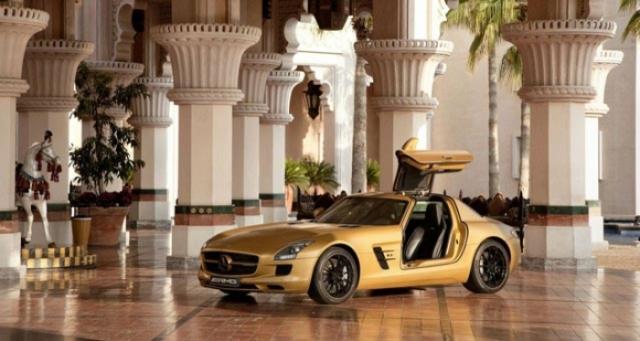 Poza 2: SLS AMG Desert Gold & 79