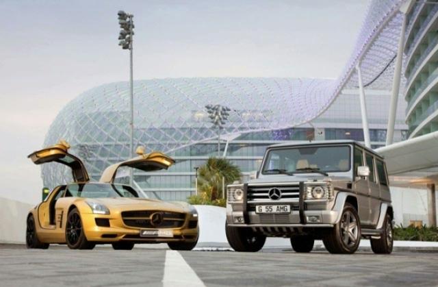 Foto 4: SLS AMG Desert Gold & 79