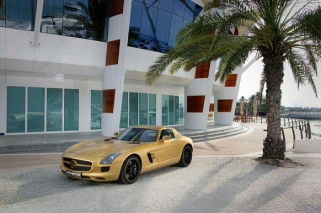 Foto 5: SLS AMG Desert Gold & 79