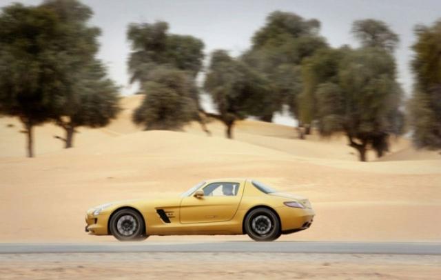 Poza 6: SLS AMG Desert Gold & 79