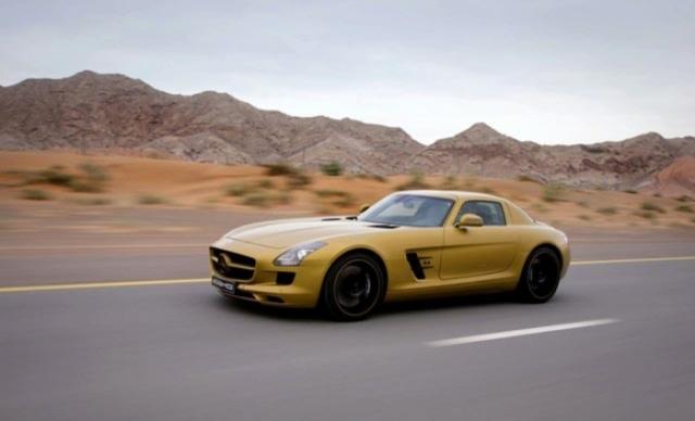 Foto 9: SLS AMG Desert Gold & 79