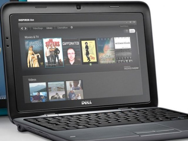 Poza 4: Dell Inspiron Duo: Laptop si tablet PC