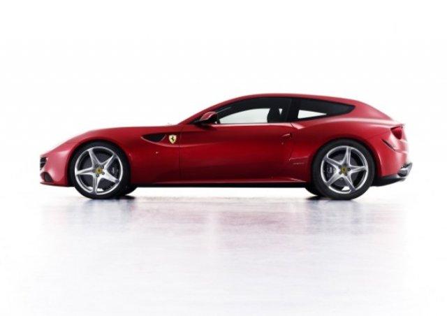Poza 1: Noul Ferrari FF, adica primul Ferrari cu tractiune integrala!