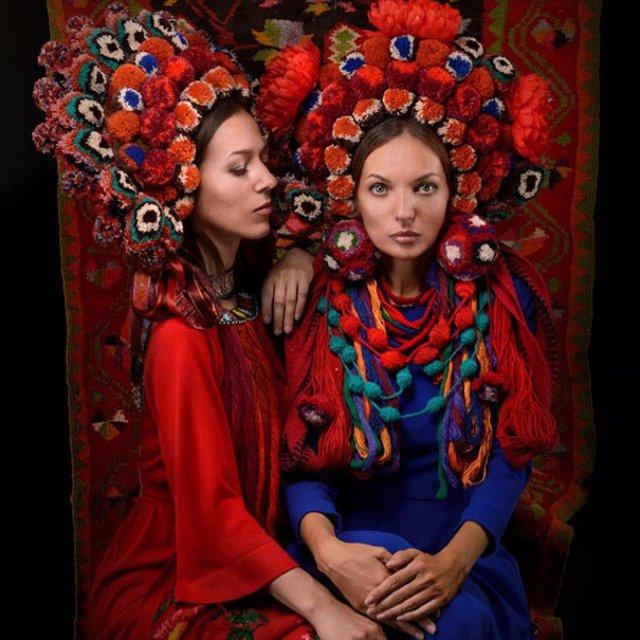 Frumusetea traditionala a femeilor ucrainiene - Poza 14