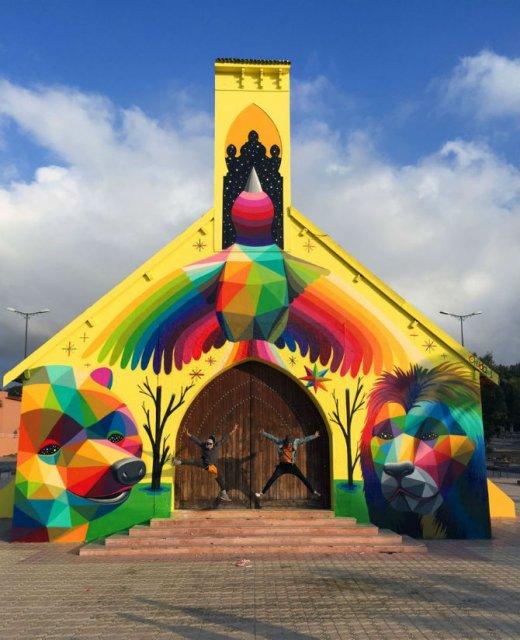 Lacasul de cult multicolor din Morocco - Poza 11