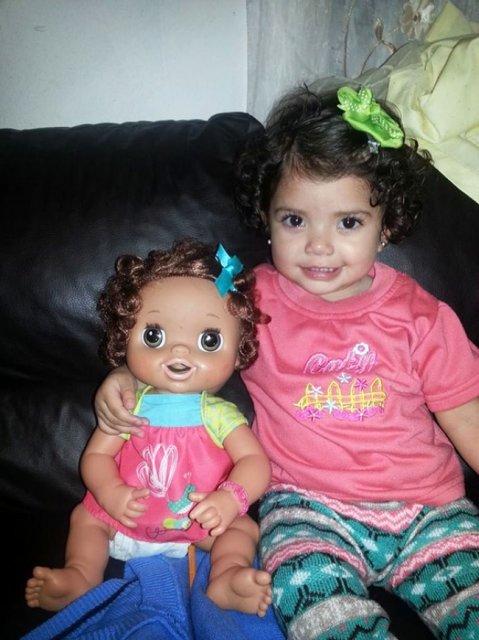Copilasi adorabili care arata ca papusile lor - Poza 12
