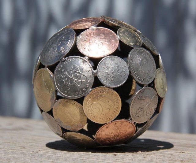 Sculpturi din chei si monede, cu Michael Moekerk - Poza 4