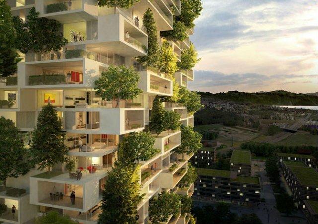 Turnul cedrilor: O padure verticala locuibila, in mijlocul orasului - Poza 2